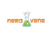 Nerdvana logo concept 2