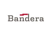 Bandera apartment development logo concept