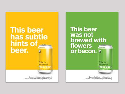 Plain Beer Posters poster ipa golden ale brewery beer plain beer