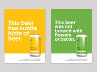 Plain Beer Posters