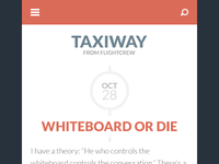 Taxiway Theme Mobile