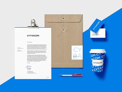 Cytracom Branding Mockup mark logotype calls internet voip logo identity mockup branding