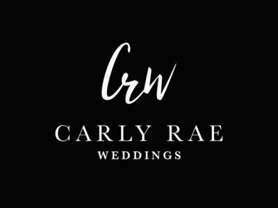 CRW - Branding design planner bride serif script events wedding identity logo branding