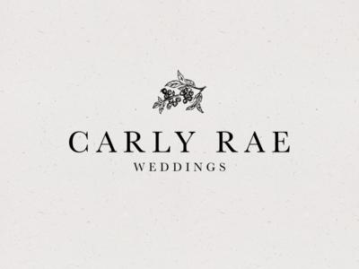 CRW - Unselected huckleberry design planner bride serif events wedding identity logo branding