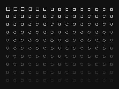 Looper Experiment - 1 geometric minimal looper illustration data sketch