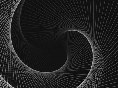 Looper Experiment - 3 geometric minimal looper illustration data sketch