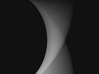 Looper Experiment - 4 geometric minimal looper illustration data sketch