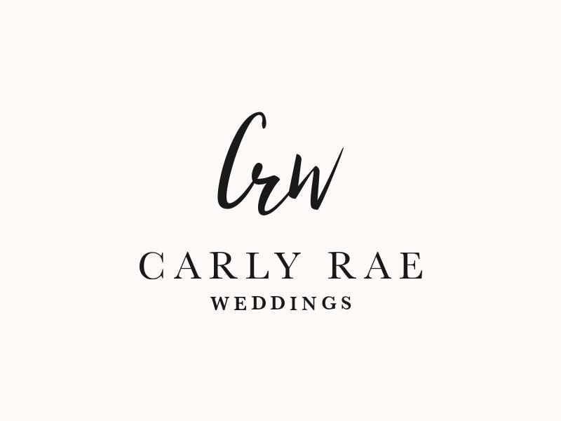 CRW - Branding serif script event wedding branding logomark logotype mark logo