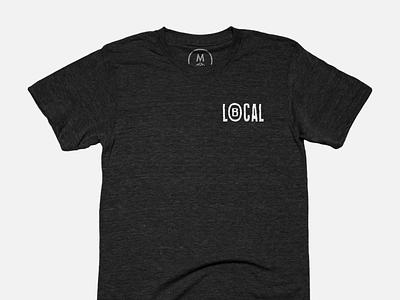 LB LOCAL Tee california long beach letters design type shirt tee bureau cotton