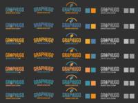 Logo Graphugo test couleur test couleur icon typography vector branding logo design creation graphics
