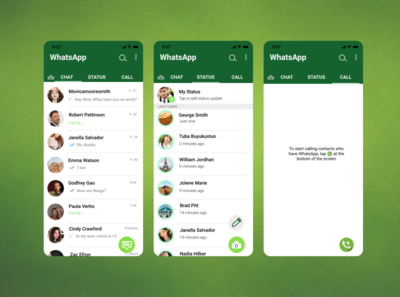 WhatsApp Aplication by