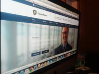 Work In Process - Finance Wordpress Theme