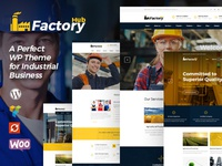 Factory HUB - Industry and Industrial Business WordPress Theme