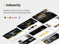 Induscity - Factory, Industry, Manufacturing Business WP Theme