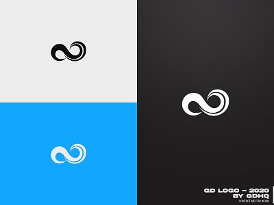 GD LOGO - 2020 illustrator minimal logomark icon design vector branding logo personal brand