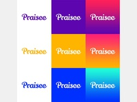 Praisee Branding Color Lockups