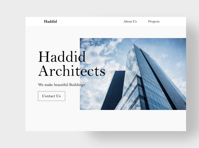 day 3 #dailyUI dailyui dailyuichallenge website typography web design web landingpage ui uiux ux minimal design