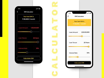 DAILY UI : CALCULATOR DESIGN dailyuichallange dailyuichallenge design art calculator app
