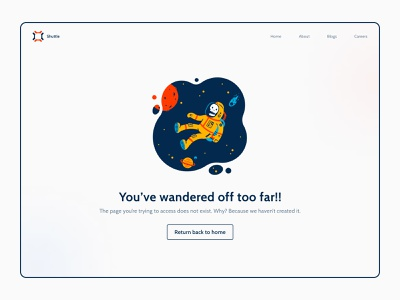 404 error page | Daily UI 008 daily ui 008 ui challenge daily ui minimal uiux ui design website web design 404 error page error page 404
