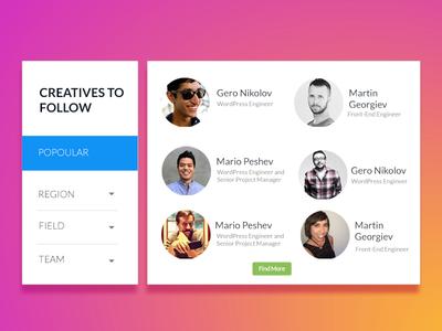 startuf - creatives to Follow