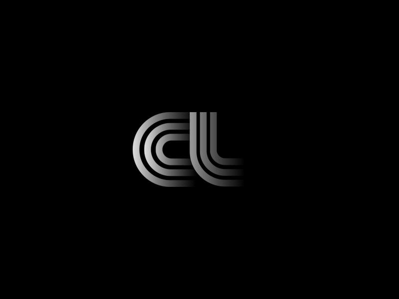 a experimental news branding brand icon arabic letter logo