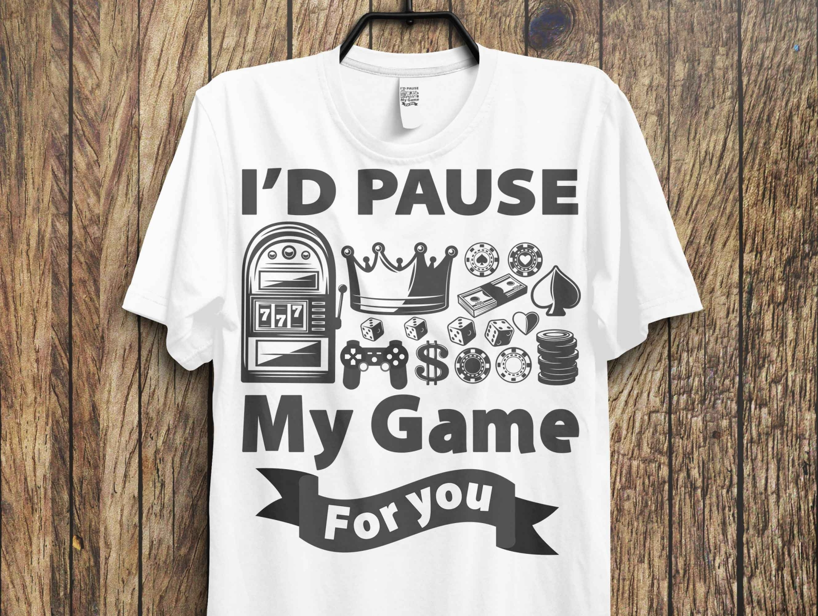 Gaming T-Shirt Design by Razzak on Dribbble