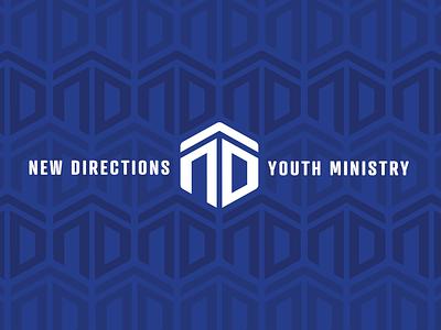 New Directions hockey hexagon minneapolis logo