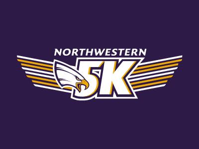 Northwestern 5K Logo
