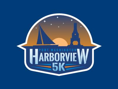 Port Washington Harborview 5K lake michigan port washington run 5k wisconsin logo race