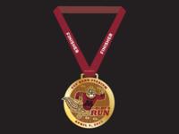 Goldy's Run Finisher Medal