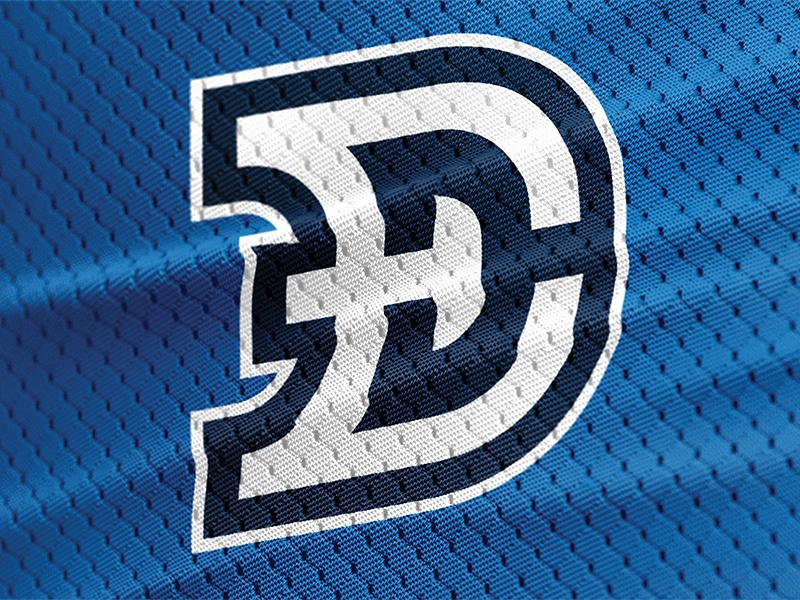 Drew Elrick Design sports d jersey logo brand personal