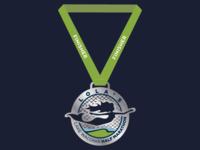 Lola's Lake Waconia Half Marathon Finisher Medal