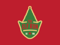 The Elf Run 5K Logo
