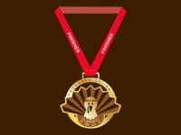 Turkey Trot Medal
