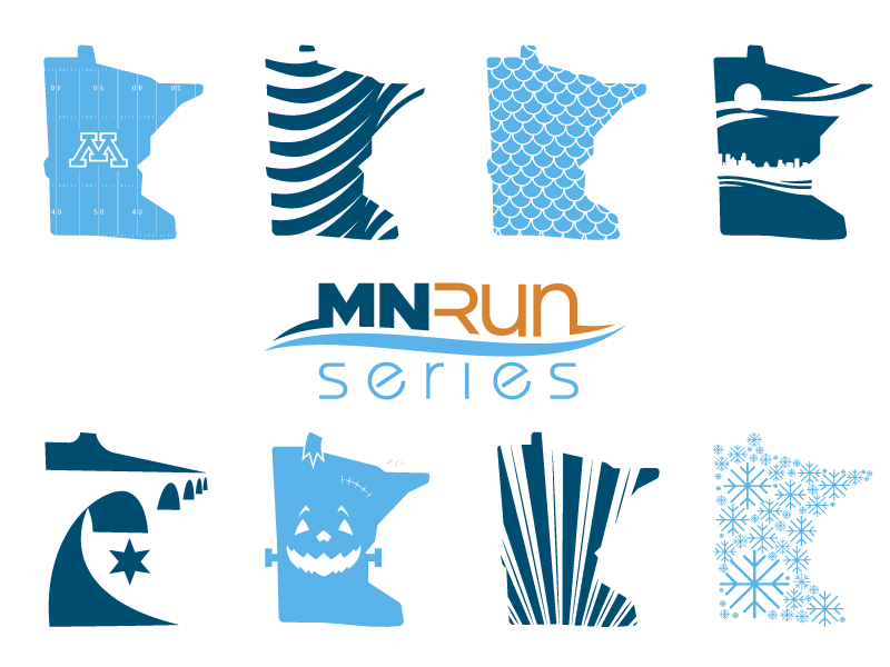 MN Run Series State Marks waves halloween snow minneapolis minnesota river water bridge 5k marathon race