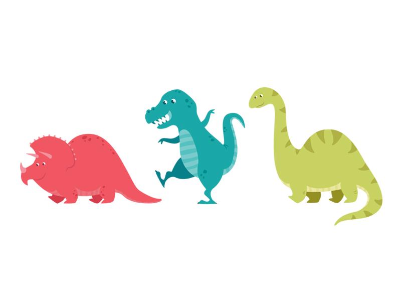 Dino Party dinosaur dino illustration vector