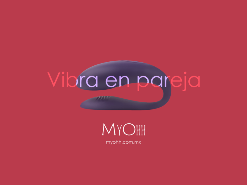 Vibra en pareja. prototype ad shop sex erotic advertising graphicdesign illustration art digital