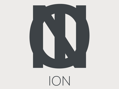 ION Jewelry Logo jewelry brand branding art graphicdesign design logo