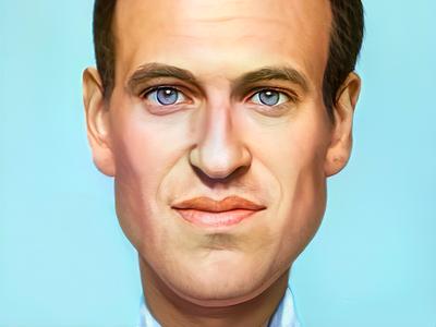 #Caricature of #Alexei #Navalny. politics editorial illustration editorial editorial art content navalny caricature illustration art digital
