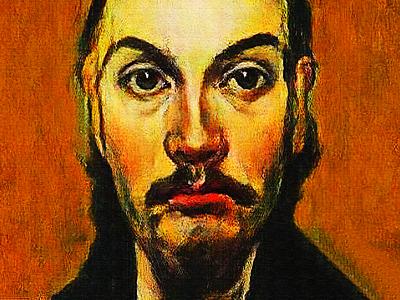 #Portrait #study of El Bonzo. portrait illustration art digital