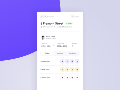 🏠 Rabbu - Listings home user interface check out check in codes code web ux ui rent estate real realestate property manage interface card listing dashboard airbnb