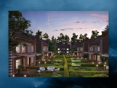 Визуализации коттеджного поселка «Князев Град»