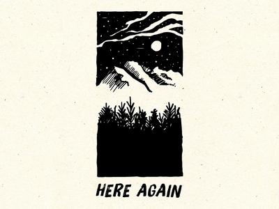 Here Again - Worship Night Illustration