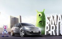 Poster KIA RIO 2012 - The future at small price