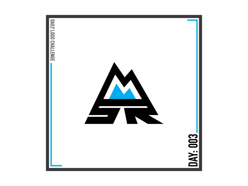 Daily Logo Challenge 003 - Mystic Mtn. Ski Resort icon vector logo design