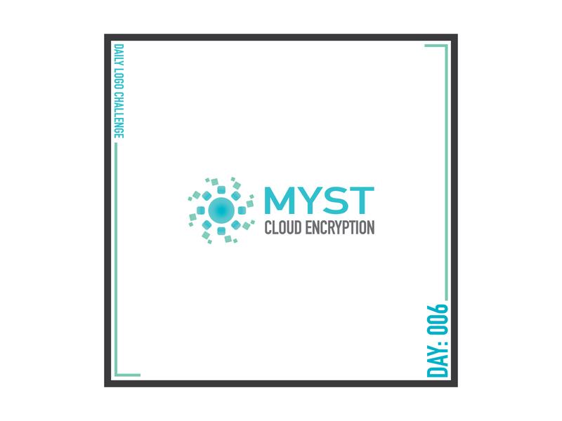 Daily Logo Challenge 006 - Myst vector logo design
