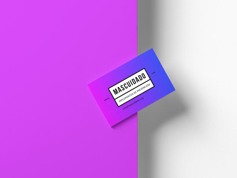 MASCUIDADO logo graphic design design branding