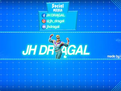 Banner JH DR GAL graphic design minimal flat ux ui art illustrator vector typography logo illustration icon design branding app