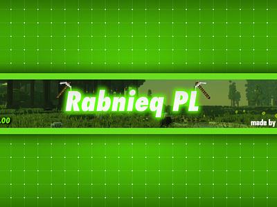 Banner Rabnieq PL character graphic design art ux ui flat illustrator vector typography logo illustration icon design branding app