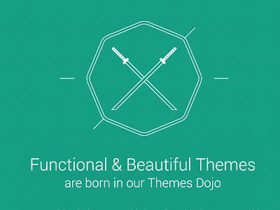 ThemesDojo - Website Frontpage themes dojo themes dojo branding logo website design frontpage